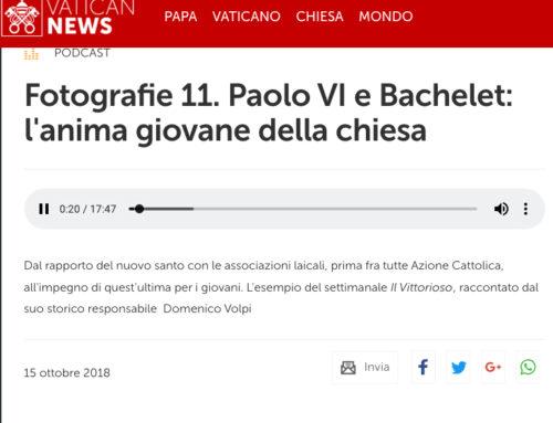 A Radio Vaticana: Domenico Volpi, socio fondatore del GSLG